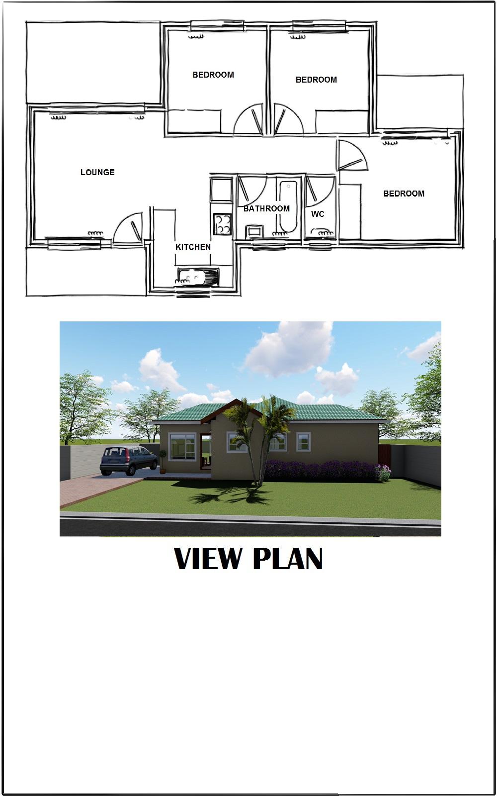 House SAP40 Floor Plan